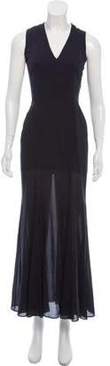 Theyskens' Theory Silk Maxi Dress