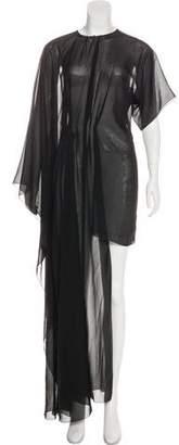 Maison Margiela Semi-Sheer Maxi Dress w/ Tags