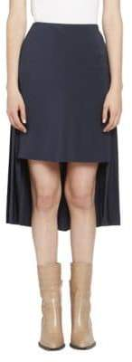 Chloé CDC High-Low Pleat Back Skirt
