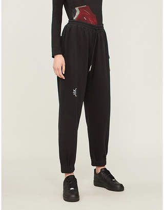 A-Cold-Wall* Logo-print cotton-jersey jogging bottoms