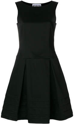 Moschino pleated skater dress