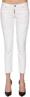 DSQUARED2 Jennifer Cotton Denim Jeans