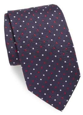 Brioni Small Multi Dot Silk Tie