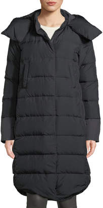 The North Face Cryos II Down Parka Coat w/ Snap-Off Hood