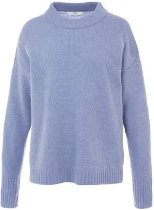 Tibi Alpaca Cozy Pullover Sweater