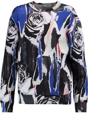 DKNY Printed Scuba Sweatshirt
