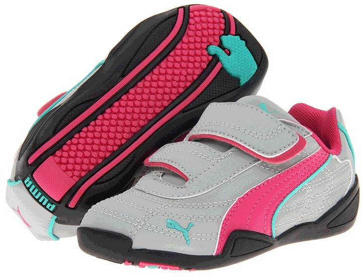 Puma Kids - Tune Cat NBK V (Toddler/Little Kid/Big Kid) (High Rise Cabaret/Atlantis) - Footwear