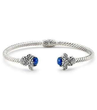 Bumble Bee Samuel B Jewelry Sterling Silver Bumblebee Lapis Bangle