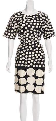 Marimekko Printed Knee-Length Dress
