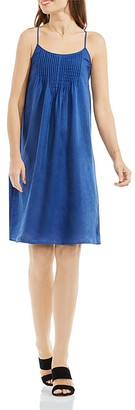 VINCE CAMUTO Pintuck Linen Swing Dress $119 thestylecure.com
