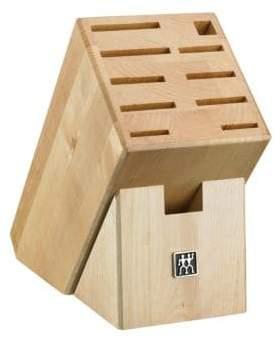 Zwilling J.A. Henckels 11 Slot Natural Wood Knife Storage Block