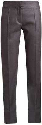 Stella McCartney Vivian mid-rise slim-leg wool trousers