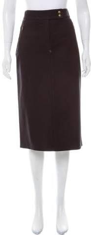 Michael Kors Zip-Accented Pencil Skirt