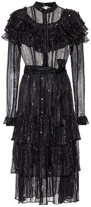 Dodo Bar Or Embroidered metallic dress