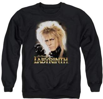 Labyrinth Jareth Mens Crew Neck Sweatshirt