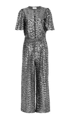 Alexis M'O Exclusive Asla Sequin Cropped Jumpsuit