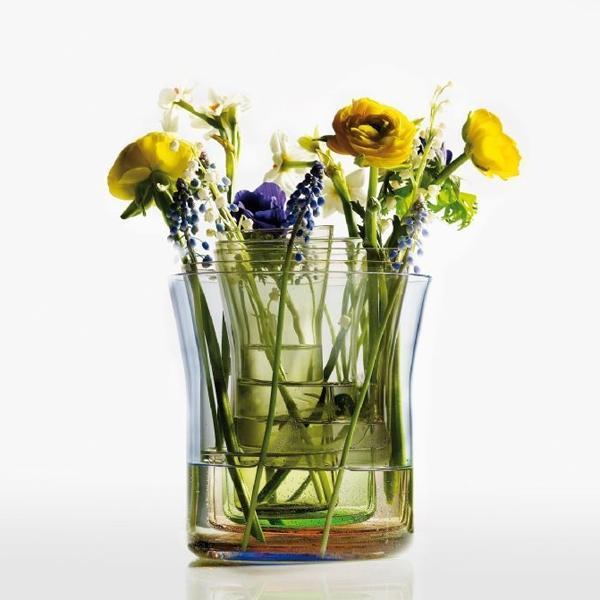 Holmegaard - spectra glass vases by cecilie manz for holmegaard