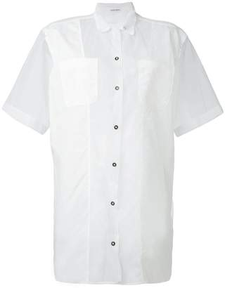 Tomas Maier sheer short sleeve shirt