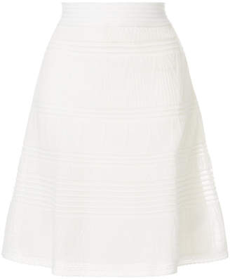 M Missoni patterned A-line skirt