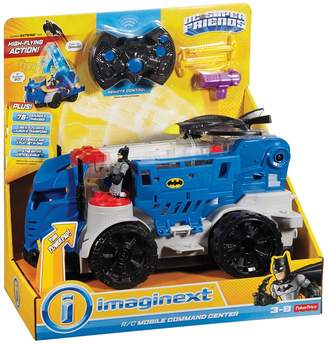 Imaginext Dc Comics Mobile Command Center