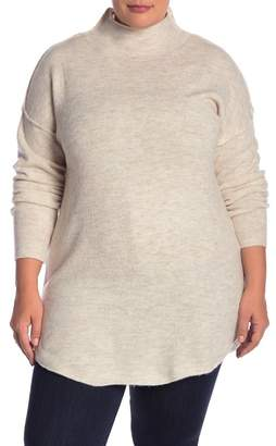 Susina Funnel Neck Tunic (Plus Size)