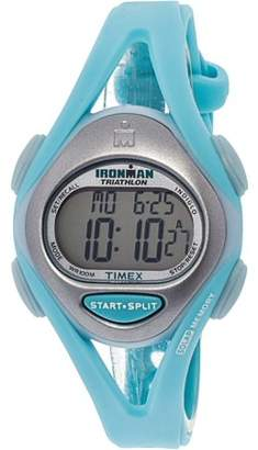 Timex Women's Ironman T5K701 Green Resin Quartz Sport Watch