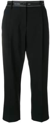 Dolce & Gabbana ribbon detail cropped trousers