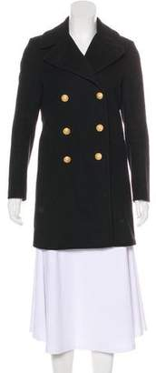Boy By Band Of Outsiders Wool Double-Breasted Coat