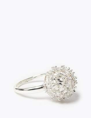 M&S CollectionMarks and Spencer Silver Plated Sparkle Ball Ring