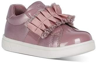 Geox Girls' B Djrock Ruffled VELCRO® Sneakers - Walker
