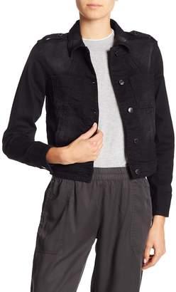 Joe Fresh Faded Cropped Denim Jacket