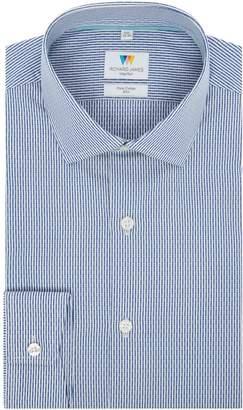 Richard James Men's Mayfair Dobby Stripe Slim Fit Shirt