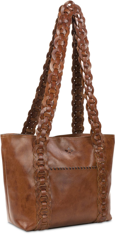Patricia Nash Round Chainlink Nevoso Double-Zip Large Tote