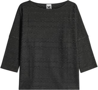 00d931cea4 M Missoni Knit Top with Metallic Thread