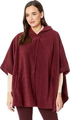 Collection XIIX Women's Fleece Hooded Cape