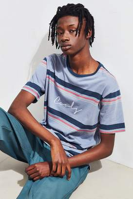 Barney Cools Embroidered Script Stripe Tee