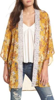 Band of Gypsies Mix Print Kimono