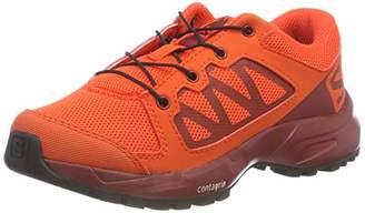 Salomon Unisex Kids' XA Elevate J Trail Running Shoes, Cherry Tomato/Red Dahlia/Black, 2 ()