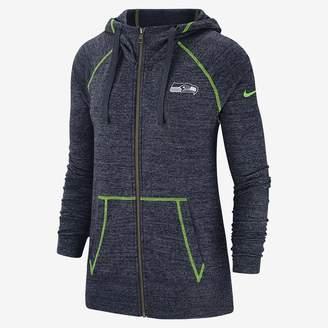 Nike Women's Full-Zip Hoodie Gym Vintage (NFL Seahawks)