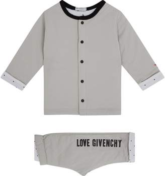 Givenchy Logo Cardigan and Trouser Set
