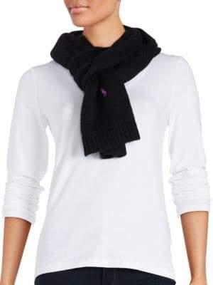 Polo Ralph Lauren Plush Alpaca Knit Scarf