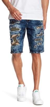 Request Ewan Camo Patched Shorts