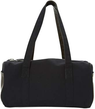 Y's Navy Cotton Handbag