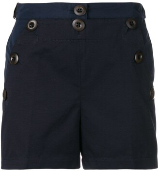 Moncler button front shorts