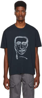 Our Legacy Grey Man Print T-Shirt