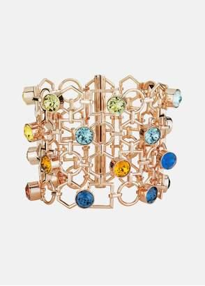 Mary Katrantzou Nostalgia Wide Bracelet Light Multi