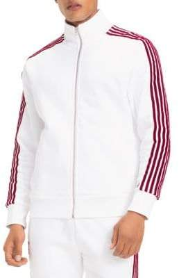 Tommy Hilfiger X Lewis Hamilton Stripe Zip-Up Top
