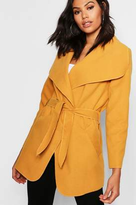 boohoo Waterfall Coat