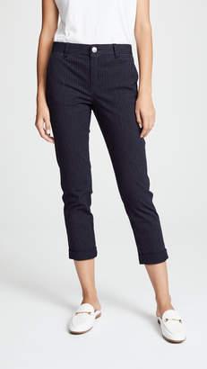 Current/Elliott The Confidant Pinstripe Trousers