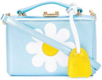 Mark Cross daisy shoulder box bag